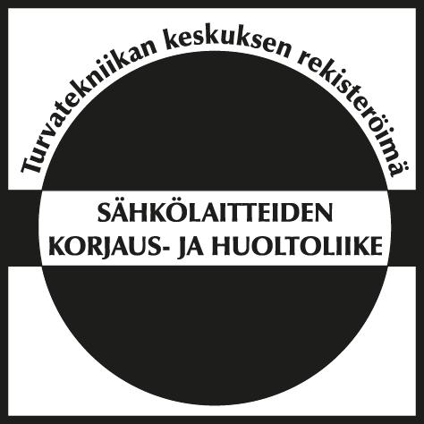 Turvatekniikan keskuksen rekisteröimä sähkölaitteiden korjaus- ja huoltoliike